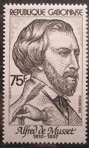 Gabon 1982 Alfred de Musset, spisovatel Mi# 817 1126