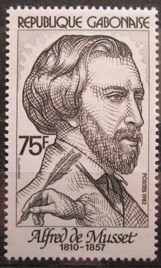 Gabon 1982 Alfred de Musset, spisovatel Mi# 817 1126 - Filatelie
