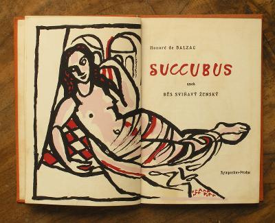 Bibliofilie - Svolinský - Balzac - 1948 - (H624)