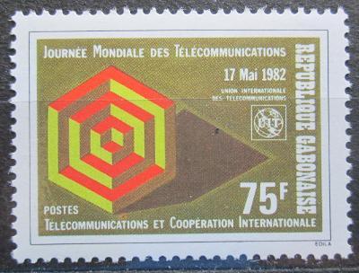 Gabon 1982 Světový den telekomunikace Mi# 824 1129