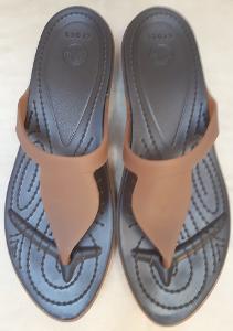 Pěkné pantofle / žabky CROCS vel. 38/39 - nové