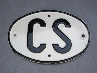 CS - značka ,cedule , MPZ