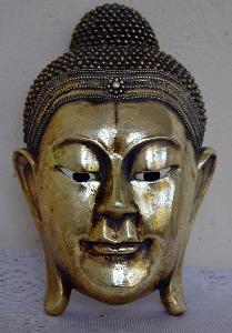 MOC HEZKÁ BUSTA BUDHY - BUDHA /9349