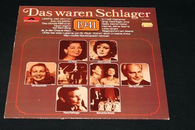 LP - Various - Das Waren Schlager 1941     (d25)