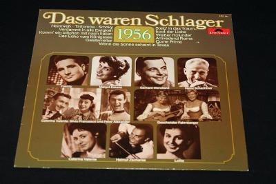 LP - Various - Das Waren Schlager 1956     (d25)
