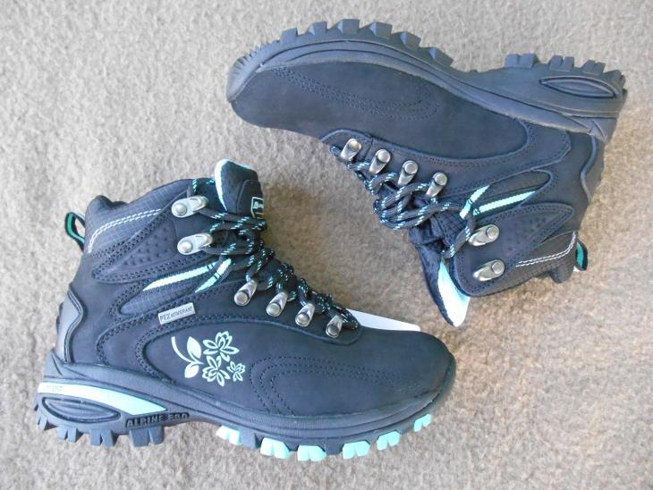 a2e09e6ddbd Nové kožené outdoorové boty zn.  ALPINE Spider High - vel. 36