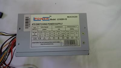PC zdroj Power LC420H-12 420W