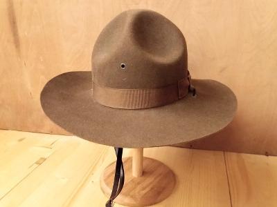 344033aad7b Starý klobouk Forest Ranger Hat vel. 54 cm