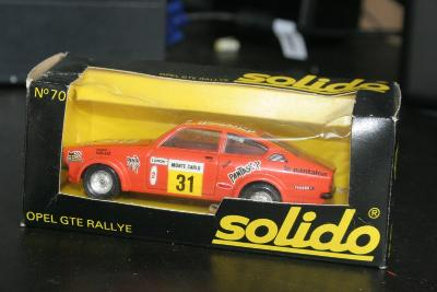 Solido 70 1:43 Opel GTE Rallye Monte Carlo