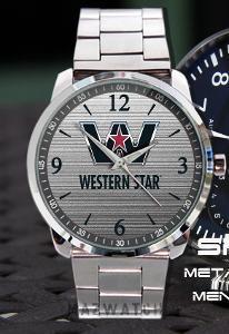Western Star Logo - hodinky nerezová ocel