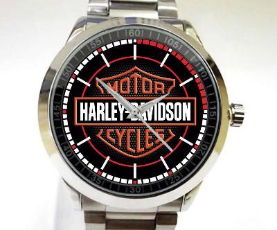 Harley Davidson Logo - hodinky nerezová ocel
