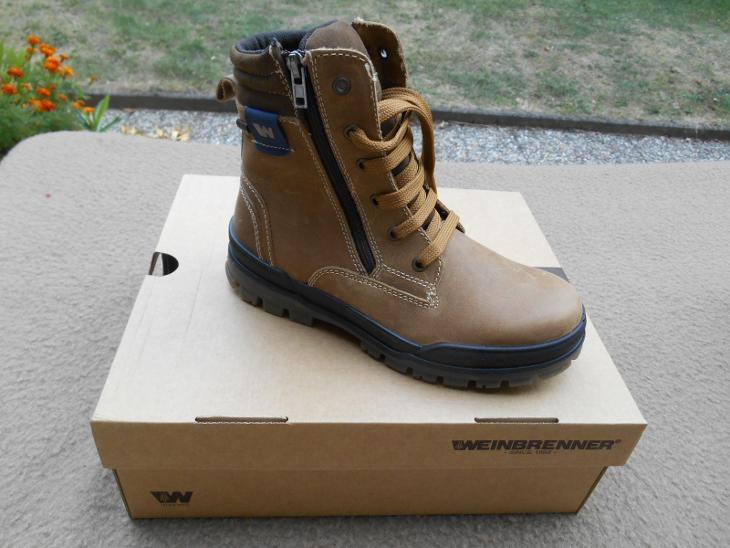Nové kožené boty zn. WEINBRENNER vel. 36 (6934382296) 68cba6ff22