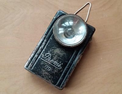 Stará německá svítilna baterka Premi 79 30. léta