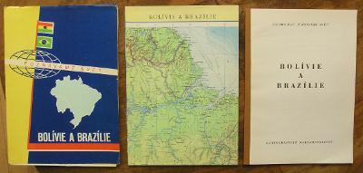 Bolívie a Brazílie - (H657)