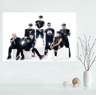 Bangtan Boys BTS - látkový plakát Kpop