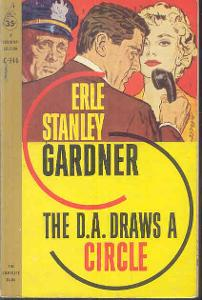 ERLE STANLEY GARDNER -THE D.A.DRAWS A CIRCLE
