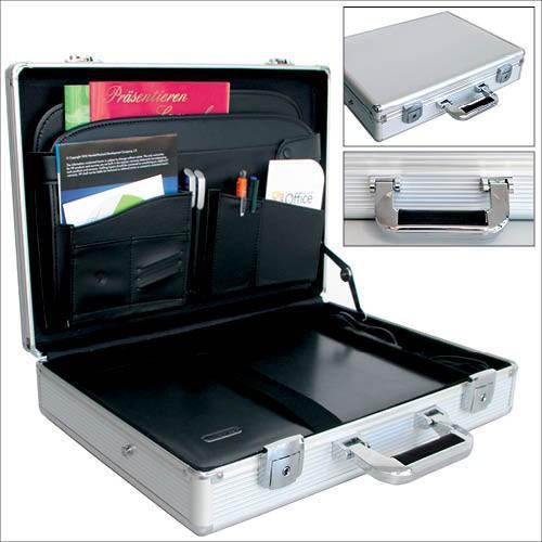3a2dfdc044de1 Hliníkový kufřík na notebook a příslušenství - 18 palců | Aukro