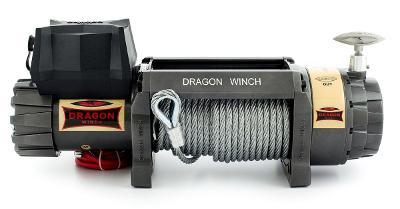Offroad naviják Dragon Winch Highlander DWH 15000 HD, 12/24 V sada