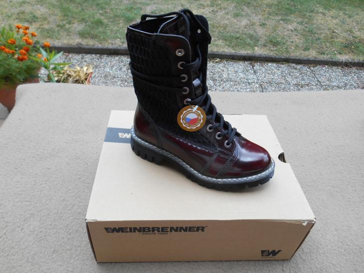 Nové kožené boty zn. WEINBRENNER vel. 38 (6942821916) 4cb7939111