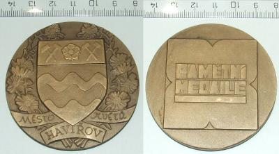Medaile - Město - Havířov