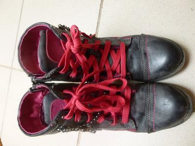 Dětská kotníčková obuv a polobotky na Aukru b7b8a73dd0
