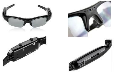 Brýle s nahrávací kamerou