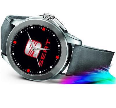 Seat logo - hodinky kožený pásek