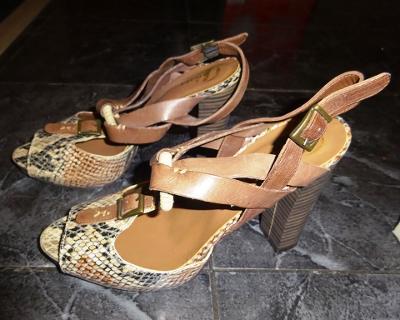 nové hadí páskové boty vel 38 Baťa