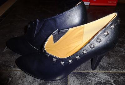 nové černé společenské boty vel 39
