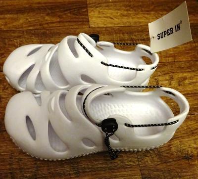 nové bílé gumové pohodlné boty vel 38