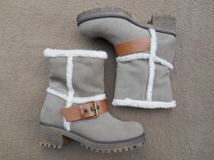 Nové kožené zimní boty zn. WEINBRENNER vel. 36 (6943616407) d72fcfb970
