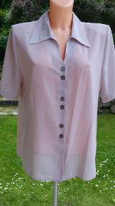 Zánovní dámská fialková halenka  M-L - Od 1 korunky