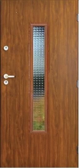Venkovní vchodové dveře DELTA MASTER PLUS - 55 mm v 3 barvách
