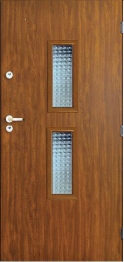 Venkovní vchodové dveře OHAIO MASTER PLUS - 55 mm v 3 barvách