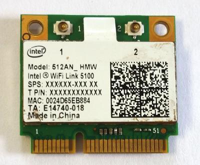 Wifi modul Intel 512AN_HMW z Sony Vaio PCG-61111M
