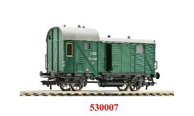 Služební vůz - vagón Fleischmann Z - ČSD H0