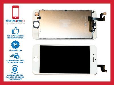 Komplet nový LCD displej pro iPhone 6S, dotyk vč. 3D Touch - BÍLÝ