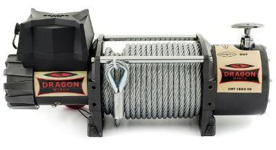 Naviják Dragon Winch Truck DWT 18000 HD, 24V, ocelové lano