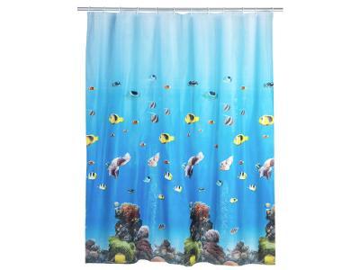 Sprchový závěs Oceán, PEVA, 180x200 cm, WENKO