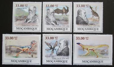 Mozambik 2009 Charles Darwin Mi# 3434-39 0076