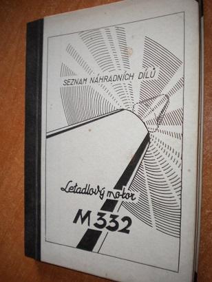 Letadlový motor M332 - seznam náhradních dílů - Knihy