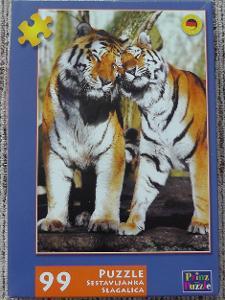 Puzzle tygři-99 dílků