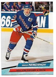 SERGEI NEMCHINOV 1992-93 ULTRA