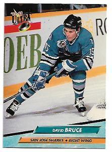 DAVID BRUCE 1992-93 ULTRA