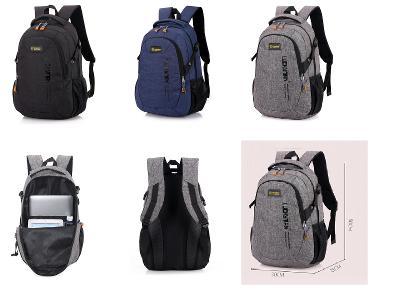 Sportovní batoh na cestování nebo do školy unisex