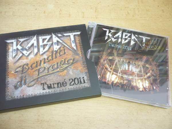 2 CD-SET  KABÁT   Banditi di Praga - Turné 2011  3f6ba5c0b18