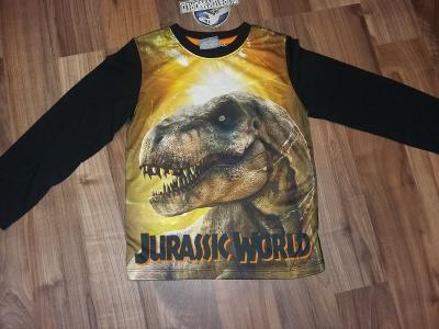 Character -Jurassic world tričko vel.11-12 let- DODÁNÍ 2 DNY