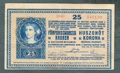 25 korun 1918 serie 3040