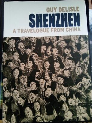 Delisle:Shenzen a travelogue from China-komiks aj !!!!