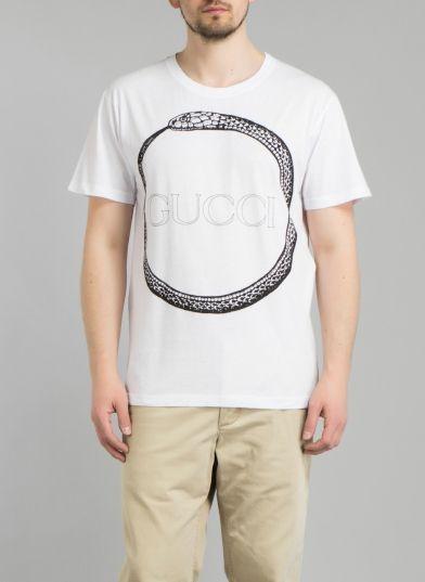 d2648b1727b6 Gucci - Pánská trička s krátkým rukávem na Aukru